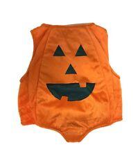 Toddler Girl or Boy Padded Pumpkin Halloween Costume, Size 2T, EUC