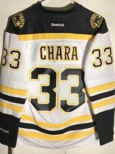 Reebok Women s Premier NHL Jersey Boston Bruins Zdeno Chara White sz L b9e83e0e8