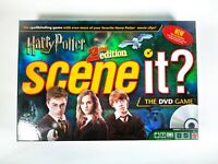 Harry Potter Scene It? 2nd Edition DVD Board Game - Complete - Mattel