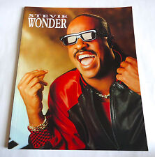 Stevie Wonder 1988 In Japan Concert Tour Program Book