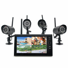 "Wireless Home Security Camera System ""Securial"" - 4x Indoor Wireless Cameras"
