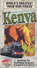 World's Greatest TRAIN Ride Videos KENYA Africa VHS Animals & More Sealed