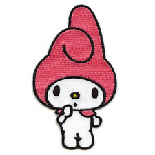 Hello Kitty My Melody Kids Cartoon Iron On Embroidered Applique Patch