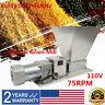 Electric Grain Mill Barley Grinder Malt Crusher 110V 2 Rollers Dy-368 75rpm Top
