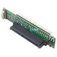 """2.5"""" IDE Hard Drive Laptop Female to 44Pin Male HDD SDD SATA Adapter Converter"""