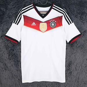GERMANY World Champions FIFA Adidas 2014 Football Jersey Shirt Size 15/16 Years