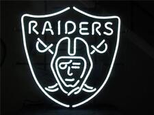 "Oakland Raiders Beer Bar Club Lamp Poster Neon Light Sign 15"" X 13"" Al043"