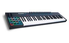 More details for alesis vi61 advanced 61-key usb/midi keyboard controller w/ 16 rgb backlit pads