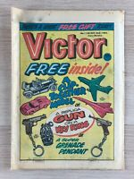 Vintage The Victor weekly Magazine UK comic for boys, No 1128 02/10/1982 gift