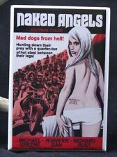 "Naked Angels Movie Poster 2"" X 3"" Fridge / Locker Magnet. GGA B Biker Movie"