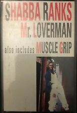 SHABBA RANKS - MR LOVERMAN - Cassette Single - Sony 1992 - TESTED - Very Good