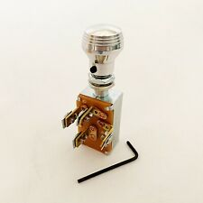 3 Position Headlight Switch with 'Art Deco' style Aluminum Knob