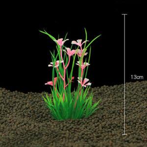 Artificial Aquarium Plastic Simulation Water Grass Plant Home Fish Tank Ornament