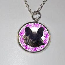Französisch Bulldog french bulldog Hund dog Halskette Necklace SJ2