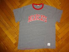 UNIVERSITY OF CINCINNATI BEARCATS Throwback Men's T-Shirt LRG ohio UC-very soft