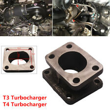 T3-T4 Turbo Manifold Adapter Swap Projects Flange Conversion Convertor Cast Iron