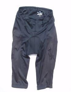 Pearl Izumi Select women's small gray padded cycling knickers long shorts