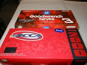 Dale Earnhardt 2000 #3 Goodwrench Service Plus Monte Carlo Action 1:24