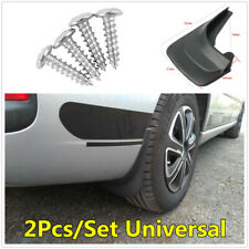 2x Car Front Rear Universal Mud Flaps Splash Guards Mudflaps Guard Protector Kit