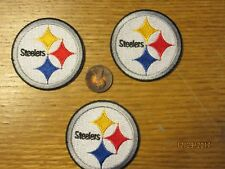 """Pittsburgh Steelers 2"""" Patch 2002-Present Primary Logo Football"""