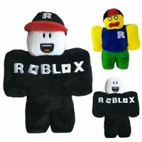 """12"""" Game Roblox Plush Toy Doll Stuffed With Removable Hat Kids Christmas Gift"""