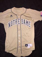 Notre Dame Baseball Gold Game Jersey 2011 - #6