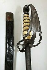 American Revolutionary War British Sword Ca 1760-70 From Important Collection