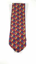 Ferrell Reed Nordstrom Tie Pattern With Red Blue Yellow Squares Free Shipping!