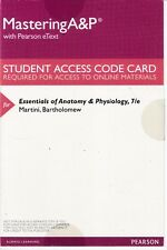Essentials of Anatomy & Physiology 7th Ed Access Code w/Pearson eText NEW