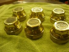 Heavy Brass 490 Chevrolet & Superior Bow Tie Hub Caps Teen's 1920's 1921 1923