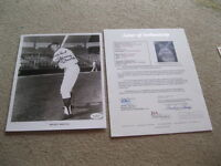 Mickey Mantle Autographed 8x10 Photo JSA Certified