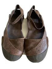 Teva Womens Shoes Mary Janes Brown 8 Non Marking Westwater