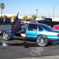 Lambo Doors Chevrolet Impala Caprice 1991-1996 Door Conversion kit VDI USA made