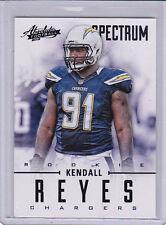 2012 Absolute Spectrum Black #152 Kendall Reyes RC Rookie 16/25