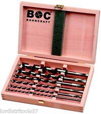 Coffret 8 mèches à bois 6-20 mm BOHRCRAFT  - SB 235
