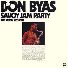 DON BYAS Savoy Jam Party The Savoy Sessions US Press Savoy SJL 2213 1976 2 LP