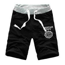 Men Summer Cotton Shorts Pants Gym Trousers Sport Jogging Trousers Casual Shorts