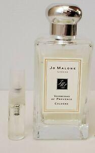 JO MALONE Verbenas of Provence Verbena Cologne Decant Sample Spray - 3 ml