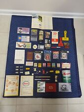 Lot of Automobila Advertising Items No Ky In Oh Tri State Esso Sunoco Amoco