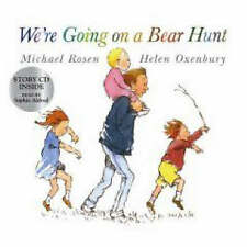 BRAND NEW..WE'RE GOING ON A BEAR HUNT.. Michael Rosen ..WITH CD.BUY NOW