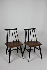 2x 50er 60er Jahre Design Stuhl Tapiovaara Asko Finland Teak vintage orig.Fanett