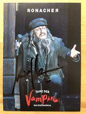 Nicolas Tenerani AK Tanz der Vampire Ronacher Autogrammkarte original signiert