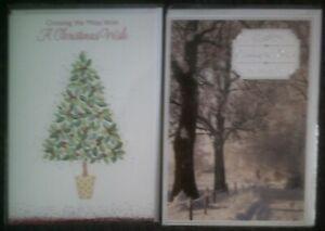 XMAS CARD*CROSSING THE MILES*CHRISTMAS*GREETING*CHOOSE DESIGN**99P EACH**
