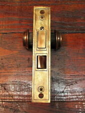 Vintage Eagle Lock Co Cast With Brass Face Door Lock Mortise Assembly