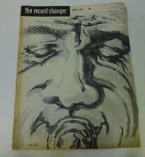 The Record Exchanger Magazine April 1952 Jazz Benny Goodman Pee Wee Russell