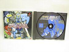 MAD STALKER FULLMETL FORCE Free Shipping PS1 Playstation Japan Game p1