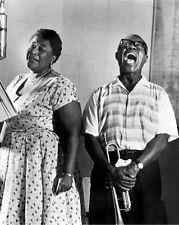 "Ella Fitzgerald / Louis Armstrong 10"" x 8"" Photograph no 17"