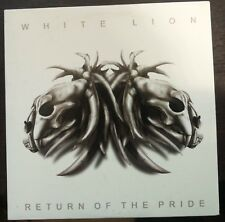 White Lion ‎– Return Of The Pride Cd cardboard sleeve Promo Mint 2008