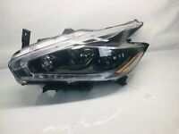 2015 2016 2017 2018 NISSAN MURANO HALOGEN FRONT LEFT OEM  HEADLIGHT BLACK