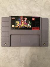 Mighty Morphin Power Rangers (Authentic) (Super Nintendo, SNES) Tested